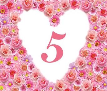 gefeliciteerd met jullie 5 jarig huwelijk
