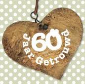 60 jaar getrouwd kaarten
