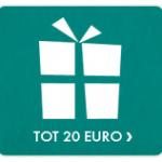 25 jaar getrouwd cadeau tot 20 euro