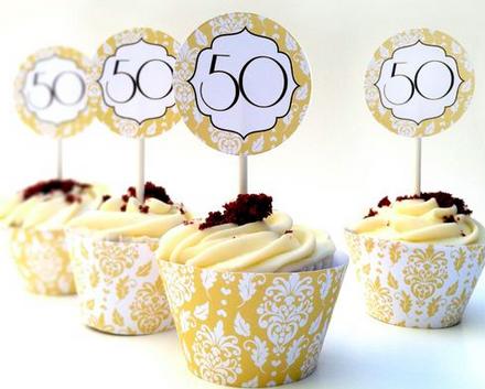 versiering 50 jaar huwelijk