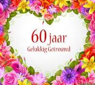 60 jaar getrouwd uitnoding tekst