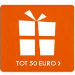 25 jaar getrouwd cadeau tot 50 euro