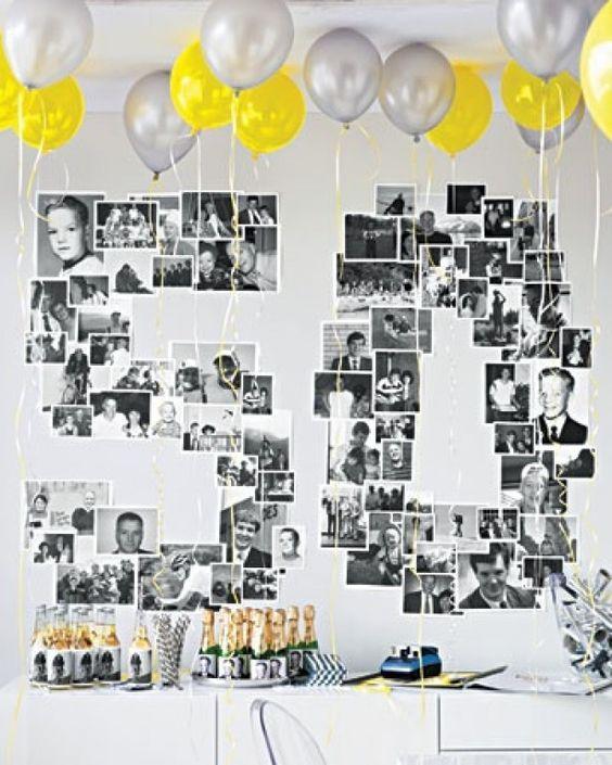 50 jaar getrouwd versiering idee