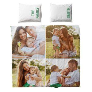 Dekbed met kussen - 200x200cm - Polyester