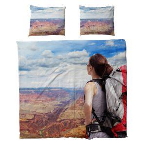 Dekbed met kussen - 220x200cm - Polyester