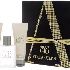 Giorgio Armani Acqua di Gio homme set 50ml edt + 75ml Showergel + 75ml Aftershave Balm